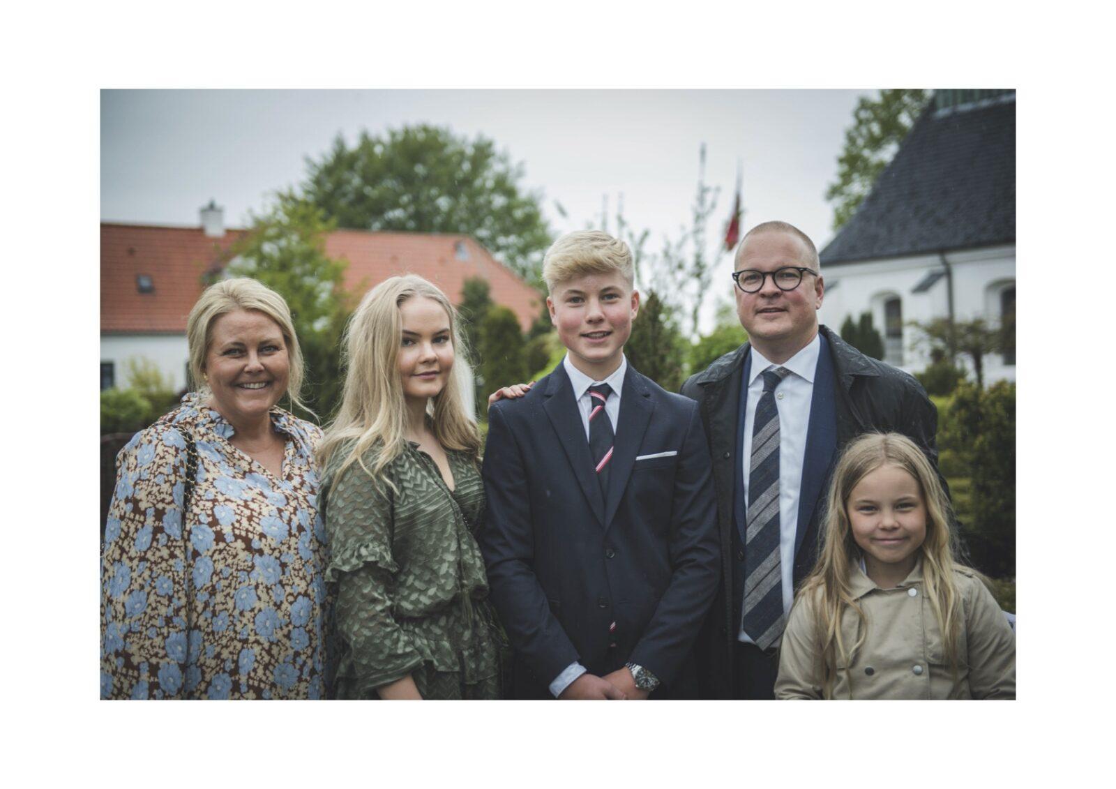 Anna Dorthe, Jesper og deres børn